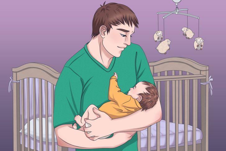 Эксперт Делится 4 Простыми Техниками, чтобы заставить ребенка заснуть за считанные секунды